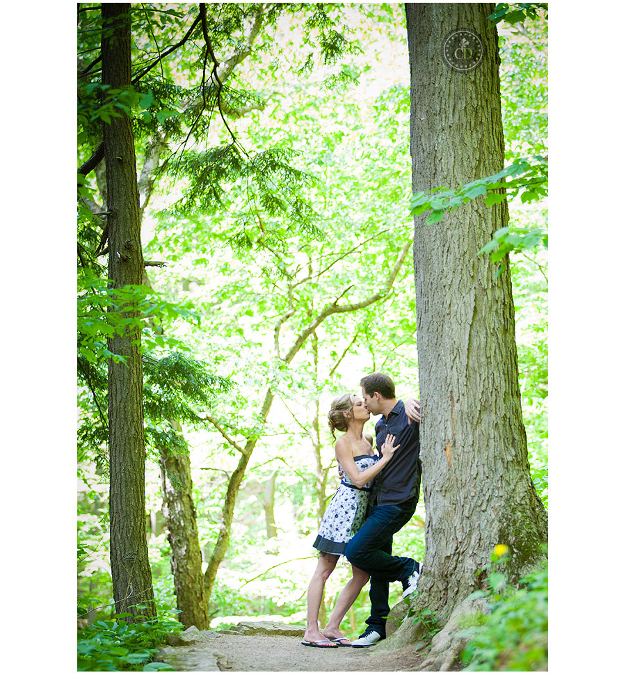 Tiffany Falls Engagement
