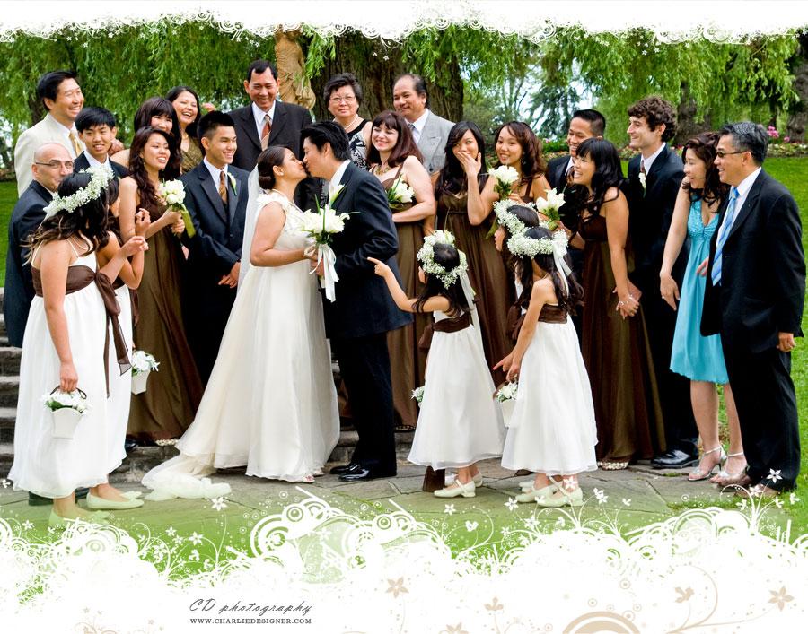 Edwards Gardens Wedding