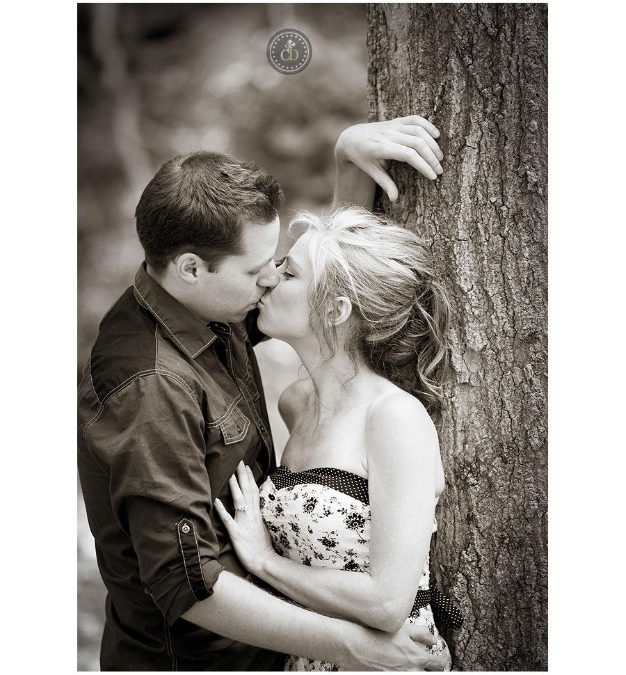 Tiffany Falls Engagement