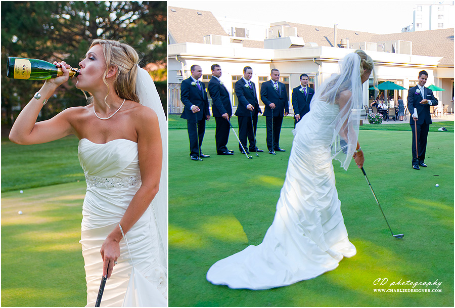 Markland Woods Golf Wedding