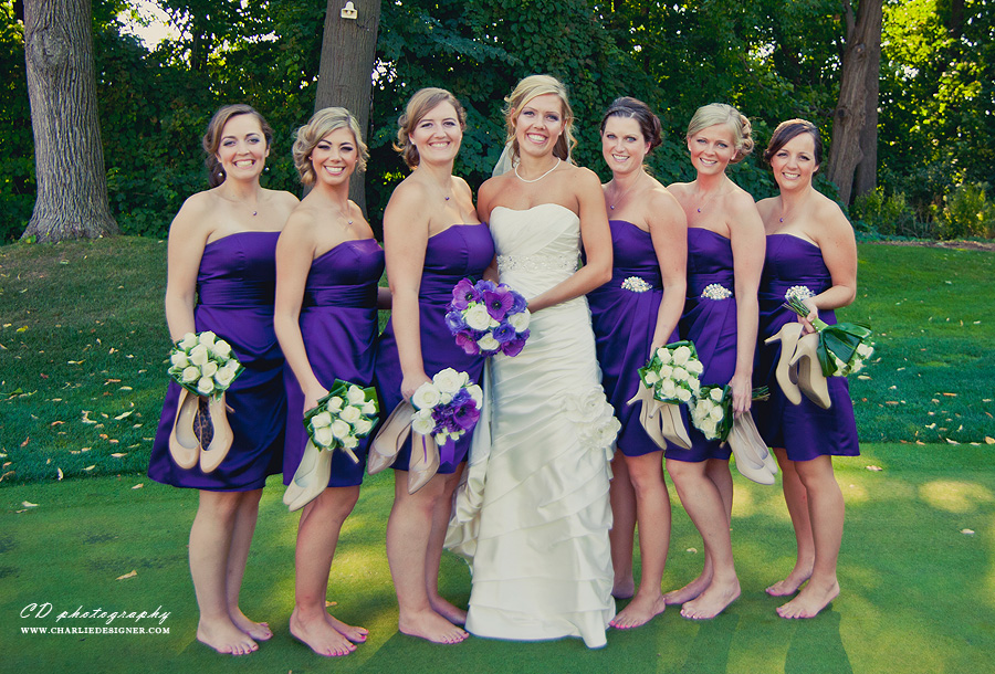 Markland Woods Golf Wedding