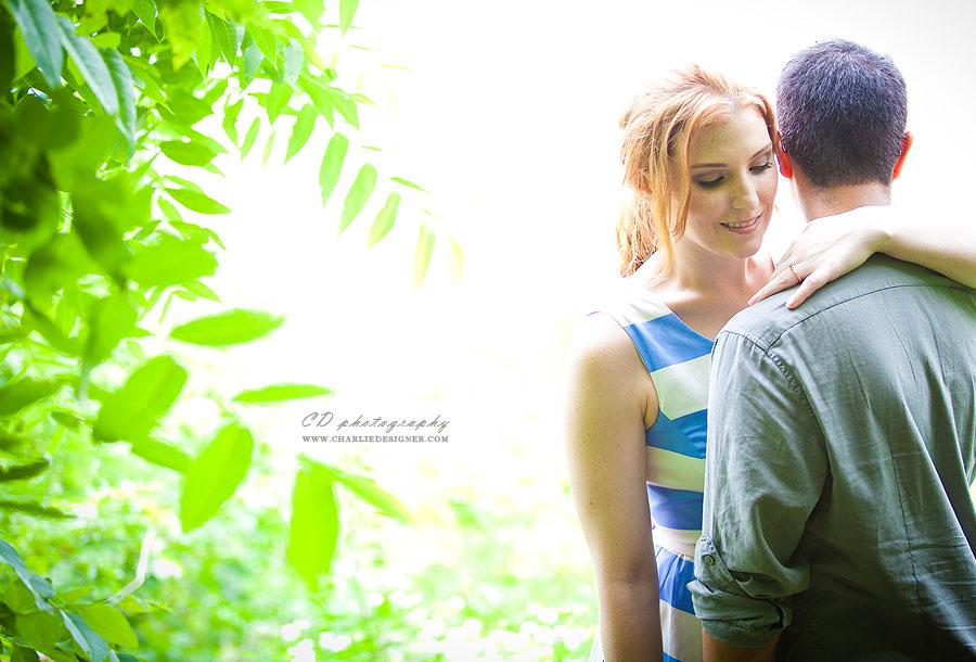 Sam Lawrence Park Engagement